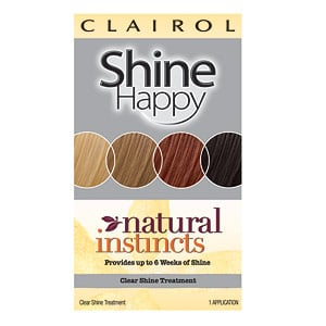 Doing Drugstore: Clairol Natural Instincts Shine Happy