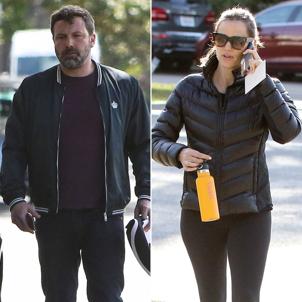 Filing For Divorce: Ben Affleck And Jennifer Garner After Filing For Divorce