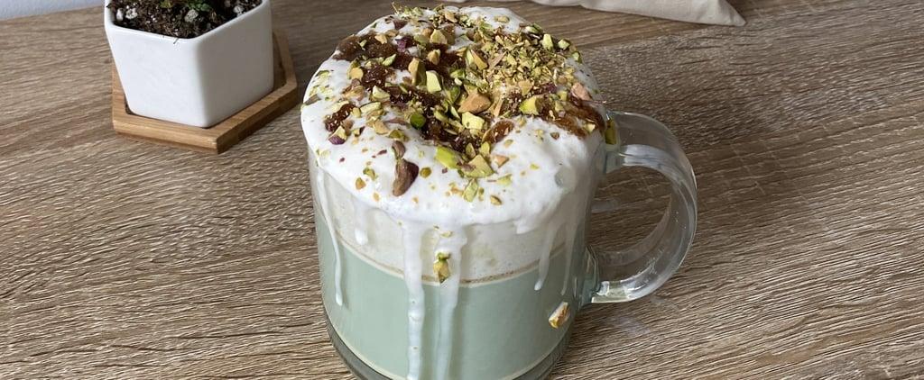 Starbucks Pistachio Latte Recipe and Photos