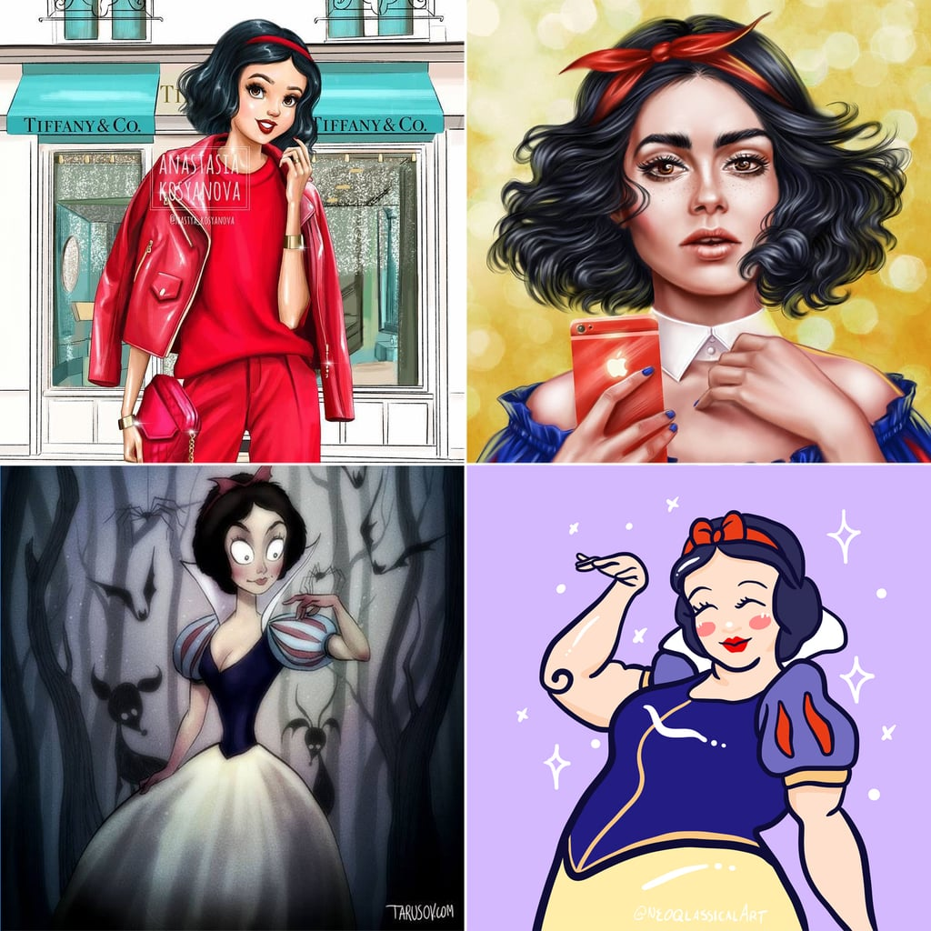 Disney Princesses Like You've Never Seen Them — 140+ Artistic Takes on the Beloved Heroines