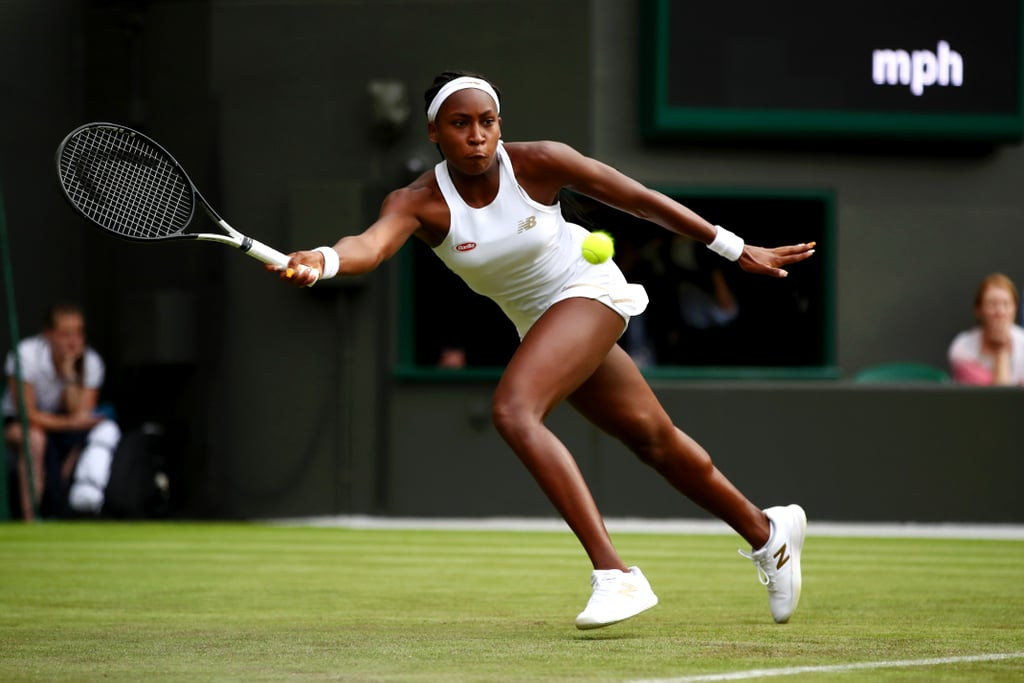 """Yep, she just did that. During her Wimbledon debut on Monday, 15-year-old American Cori """"Coco"""" Gauff took on Venus Williams and shocked viewers worldwide when she beat the tennis superstar 6-4 during the first round at the All England Club. Williams, a five-time Wimbledon champion, was stunned by Gauff's performance and congratulated the young athlete after the match. """"Congratulations, keep going, and good luck,"""" Williams told Gauff, according to BBC.  The 15-year-old athlete later revealed that Williams is one of her biggest inspirations and that she """"wouldn't be [at Wimbledon] if it wasn't for her."""" Williams wasn't the only one who was proud of Gauff's impressive win. """"My parents will be super happy; my dad was jumping up every time I won a point,"""" Gauff said. """"I'm so happy they spent all their time on me and my brothers and making sure we're successful."""" Gauff, a student from Delray Beach, FL, is the twelfth youngest player overall in the Wimbledon main draw and the youngest to come through qualifying. In early 2019, she became the youngest female player to win a Grand Slam qualifying match in the French Open. """"I don't really know how to feel, this is the first time I've cried after a match — after winning,"""" Gauff added at the end of her match against Williams. """"I never thought this would happen. I'm literally living my dream right now."""" See photos from the intense match and footage of Gauff's parents reacting to her exciting win ahead.      Related:                                                                                                           Meet Sofia Kenin, the Young American Who Just Upset Serena Williams in the French Open"""
