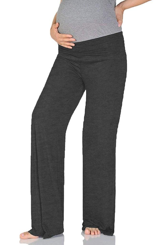 Beachcoco Women's Maternity Wide/Straight Comfortable Pants