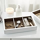The White Company White Lacquer Compartment Tray