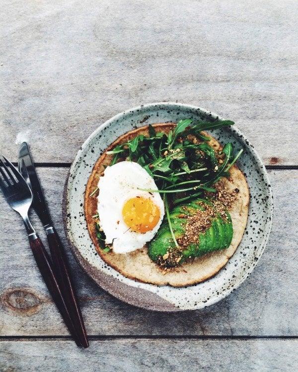 Coconut Flour Pancake With Eggs
