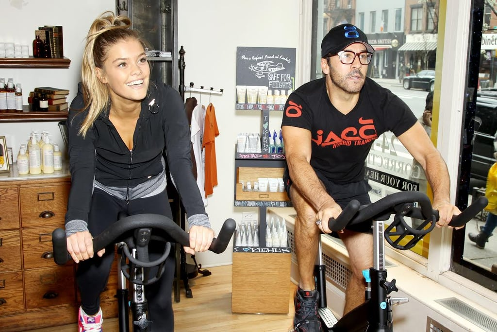 Jeremy Piven and Nina Agdal