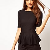 ASOS's Peplum Top ($38) is sleek, on-trend, and super affordable.