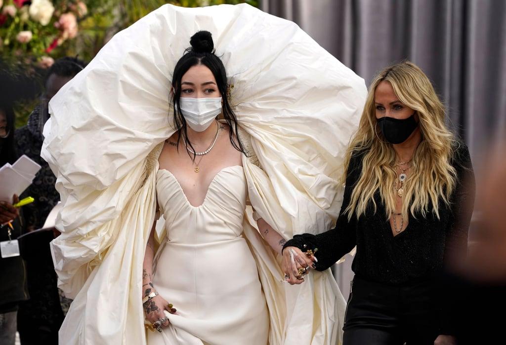 Noah Cyrus at the 2021 Grammy Awards