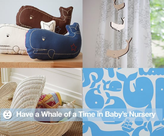 Whale Themed Nursery Decor Popsugar Moms