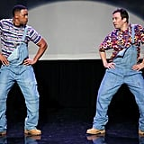 Even when he's schooling Jimmy Fallon in the history of hip-hop dancing. Watch the hilarity here.