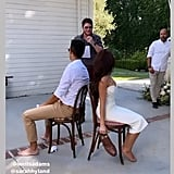 Sarah Hyland and Wells Adams at Their Engagement Party