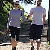 They went hiking in LA in January 2009.