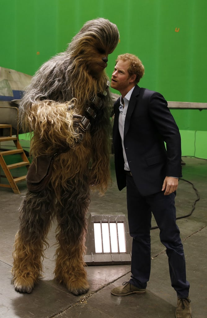 Prince Harry and Prince William Visit Star Wars Set Photos ...
