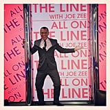Joe Zee promoted his show, All on the Line. Source: Instagram user mrjoezee