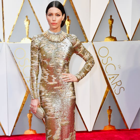 Jessica Biel Kaufmanfranco Dress at the Oscars 2017