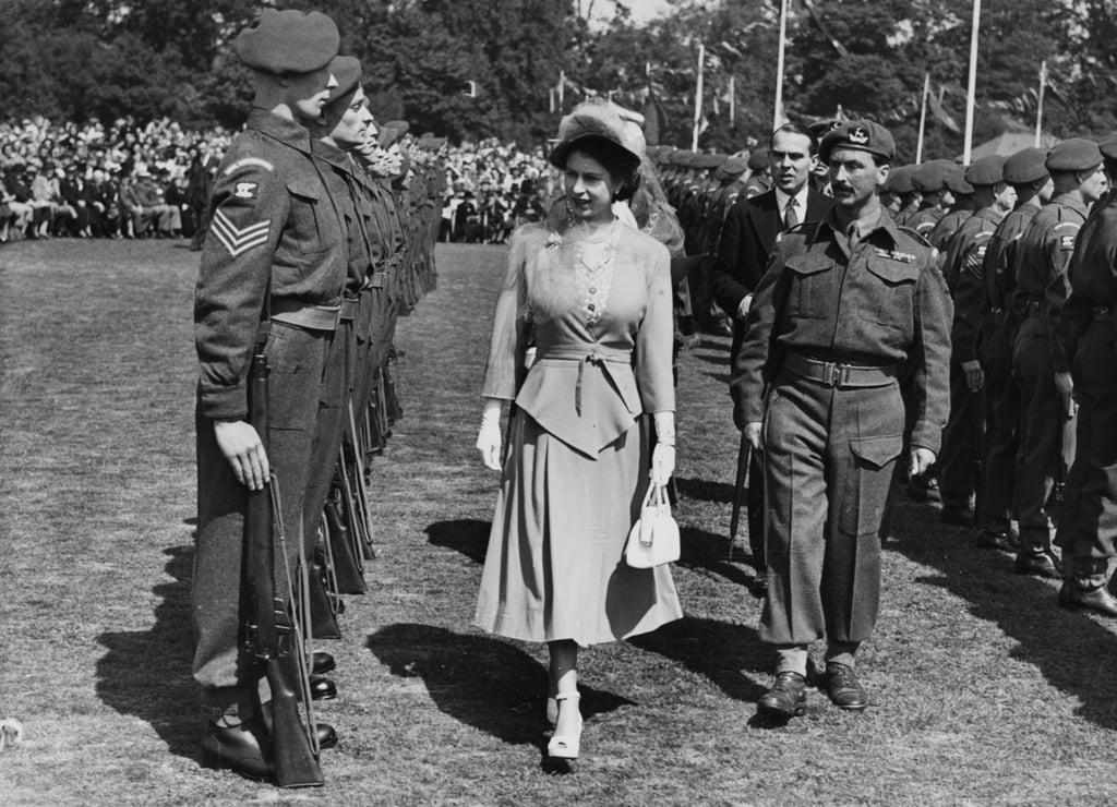 Queen Elizabeth II, 1948