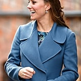 In February 2015, Kate Wore Them For a Visit to the Emma Bridgewater Pottery Factory in England