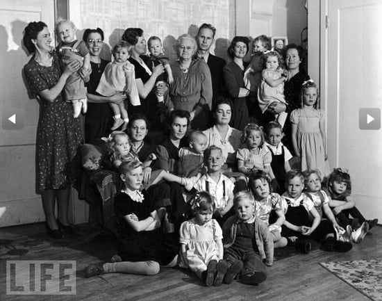 A Look at Polygamist Life in the 1940s