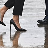 Manolo Blahnik Defends the Stilettos Melania Trump Wore After Hurricane Harvey