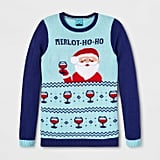 Adult Christmas Merlothoho Santa Ugly Sweater