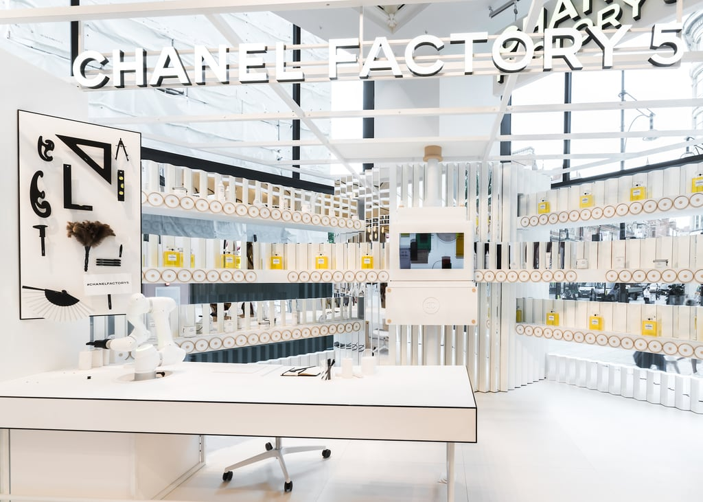 Chanel Celebrates No. 5 Fragrance With London Pop-Up Store