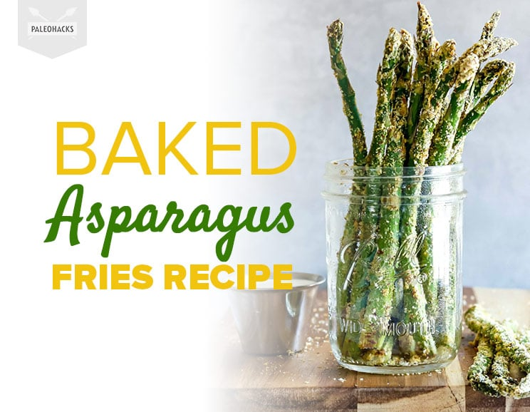 These Crispy Asparagus Fries Are Packed With Flavor — but Are Still Good For You!