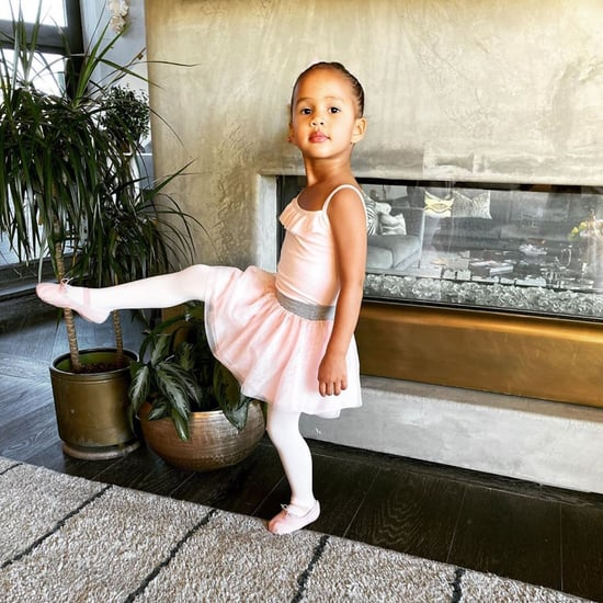 Chrissy Teigen Takes Luna to See The Nutcracker