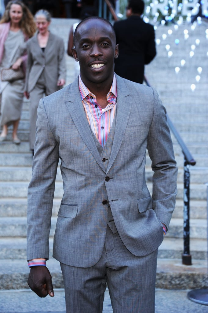 Michael Kenneth Williams attended the Vanity Fair bash for the 2012 Tribeca Film Festival.