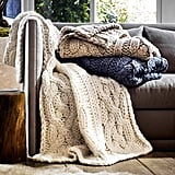 Oversized Knit Blanket