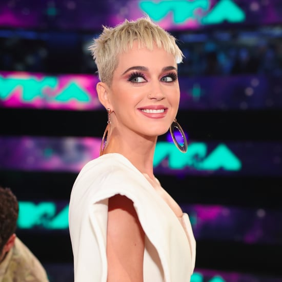 Katy Perry Hair and Makeup at the 2017 MTV VMAs