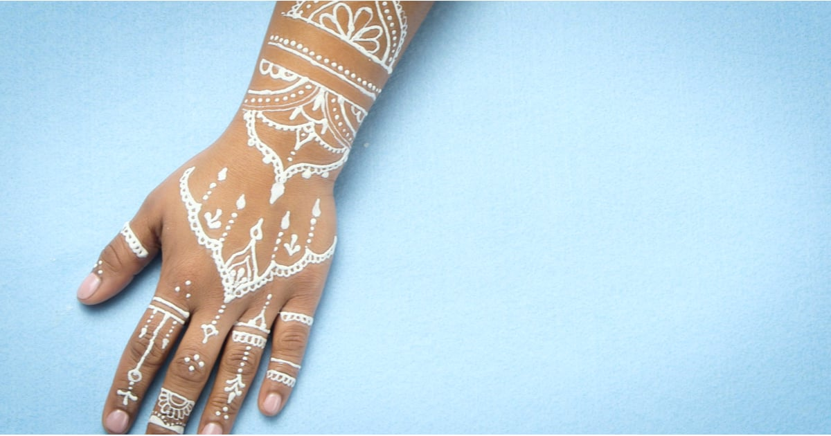 Henna Tattoo Color Brown: White Henna Video