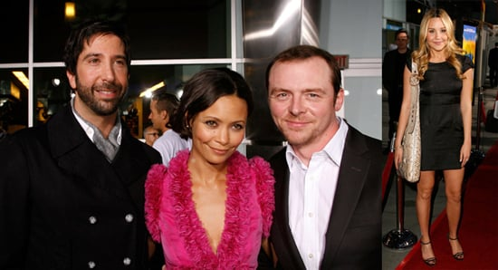 David Schwimmer, Thandie Newton, Amanda Bynes, and Simon Pegg at Run, Fat Boy, Run Premiere