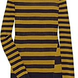 """Update your stripes for spring with this sheer silk sweater from Jason Wu. Be inspired by the runway and team with navy wide left pants and wedges or wear with slouchy rolled up jeans some killer heels for everyday chic."" Jason Wu striped sweater (£485)."