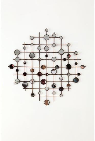 Mirror Lattice Wall Sculpture ($58)
