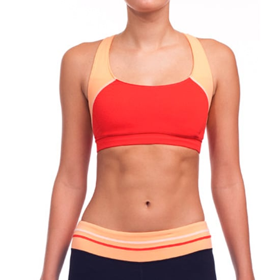 I love the bold Spring colors of this Color Block Strap Bra ($33) from Alo, a company known for their commitment to the environment.
