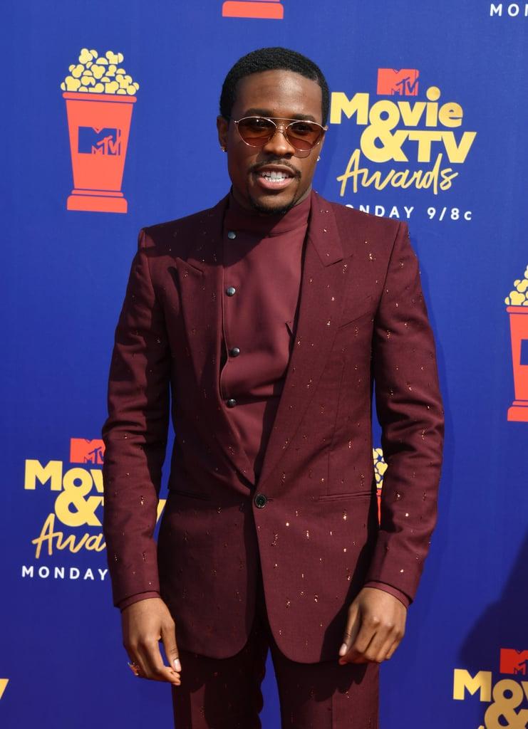 Shameik Moore at the 2019 MTV Movie and TV Awards