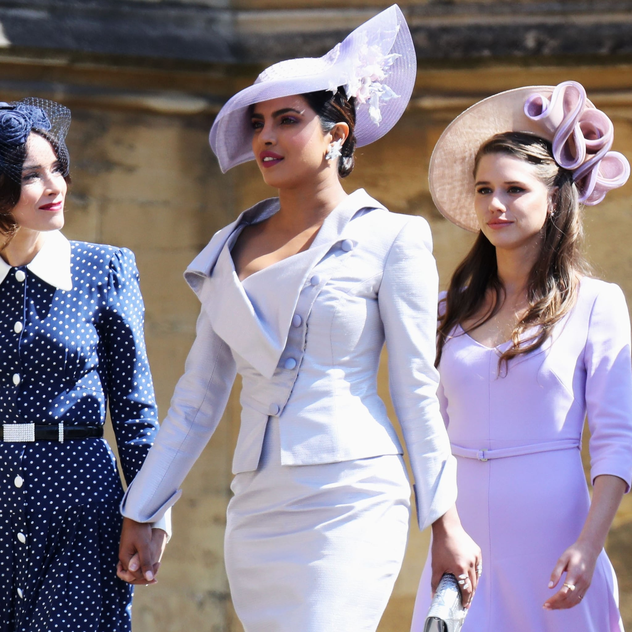 d209769b9fd00 Priyanka Chopra Outfit at the Royal Wedding 2018