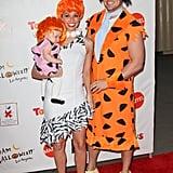 Melissa Rycroft and Tye Strickland as Flintstones Characters