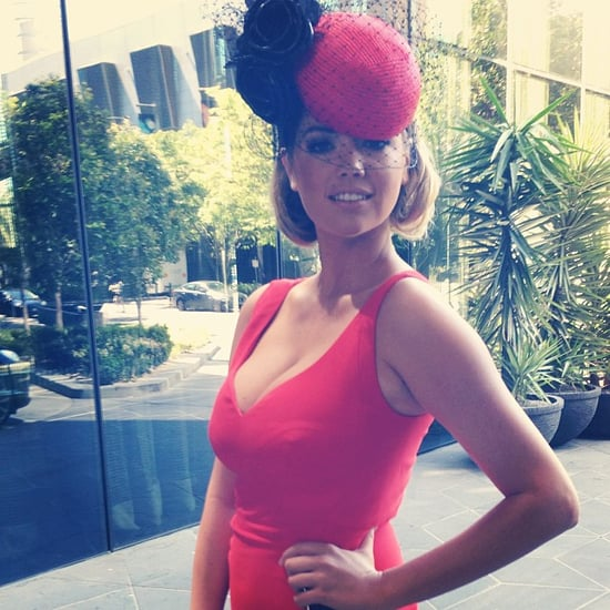 Pictures Of Kate Upton In Red At 2013 Melbourne Cup