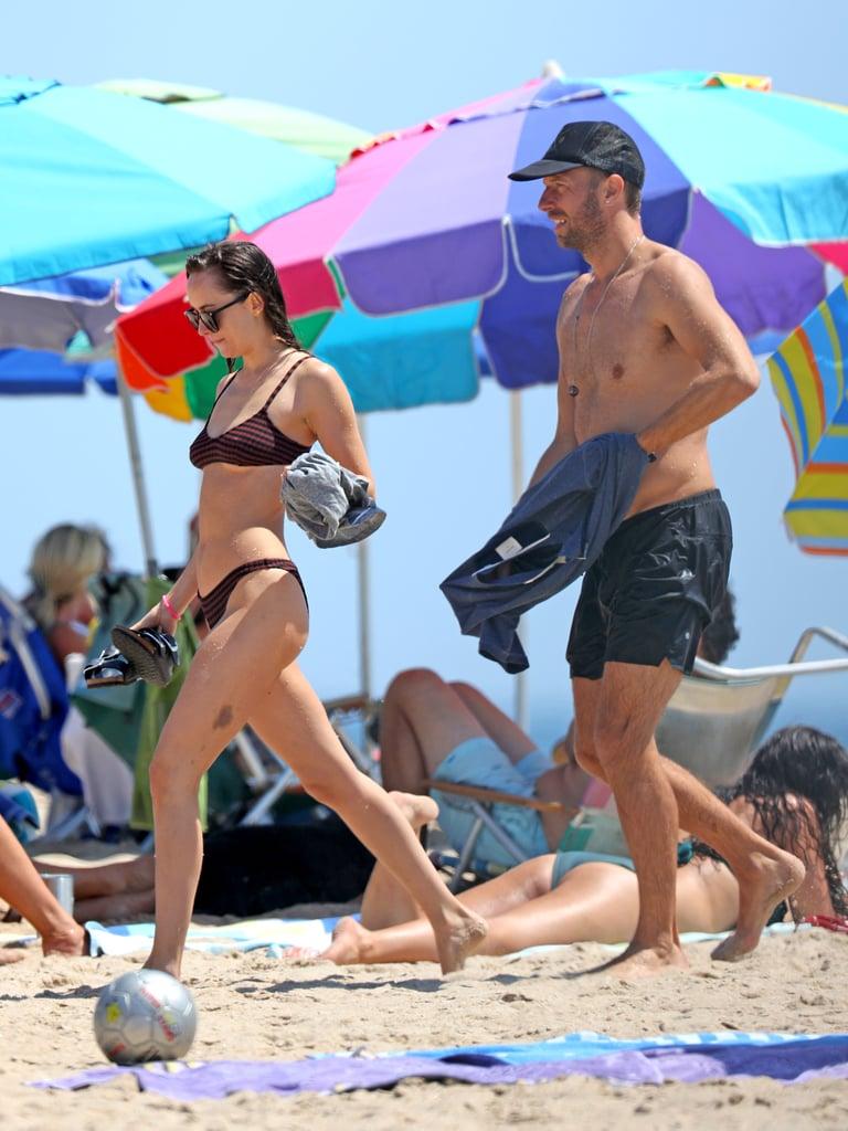 Dakota Johnson and Chris Martin in the Hamptons