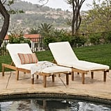 Teak Chaise Lounge Chairs With Cushions