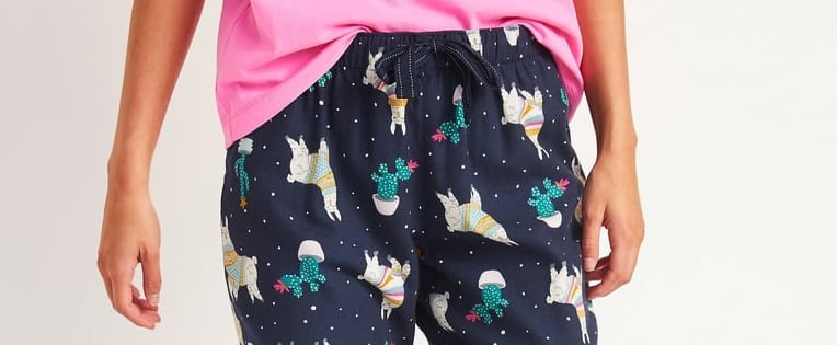 Best Holiday Pajama Bottoms at Old Navy