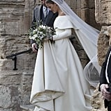 Charlotte Wellesley Caught Our Eyes in Her Emilia Wickstead Wedding Dress