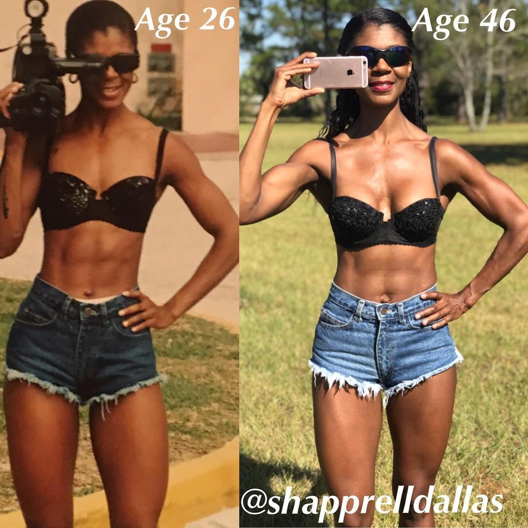 1,000 Daily Ab Reps and These Diet Habits Have Shapprell Looking Beyond Fit at 46