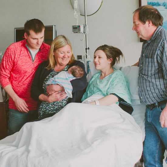 Visitors in Hospital After Birth