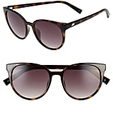 Le Specs Armada 54mm Cat Eye Sunglasses