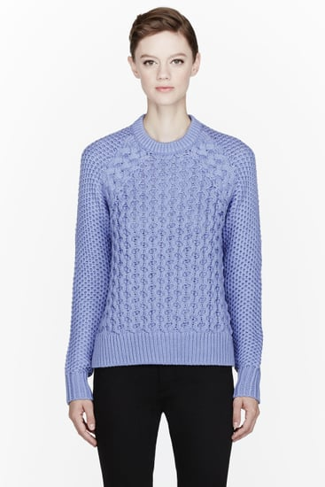The Coziest Candy-Coloured Cable Knit