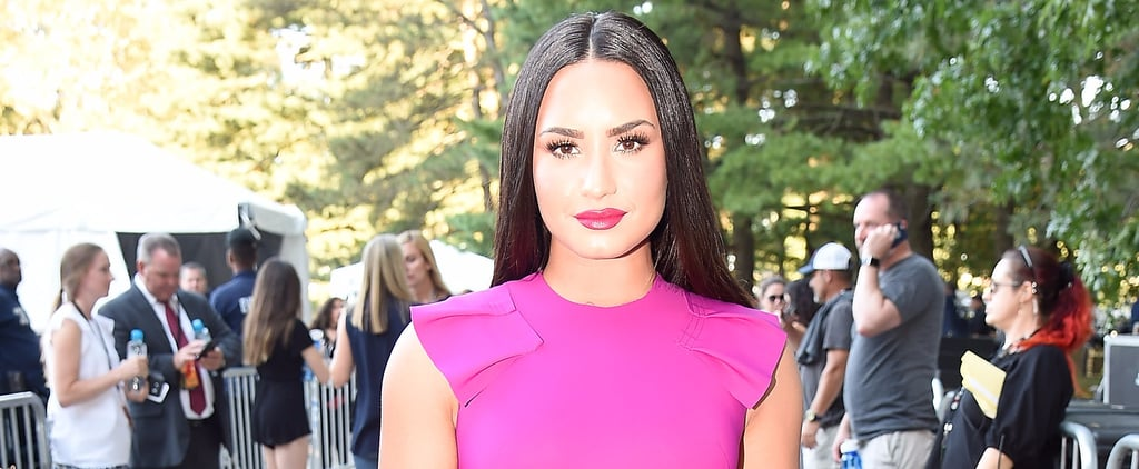 Demi Lovato Before-and-After Photo
