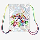 Coming soon: Lisa Frank x SpongeBob Holographic Drawstring Bag ($16)