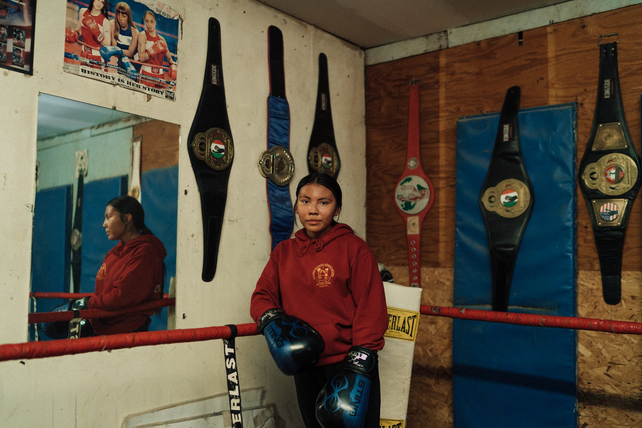 Mariah Bahe Navajo Boxer, Olympic Channel Documentary 3