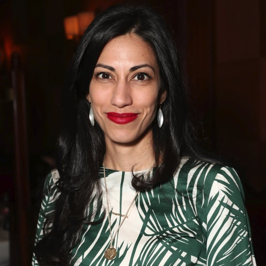 Huma Abedin's Zara Palm Tree Print Dress